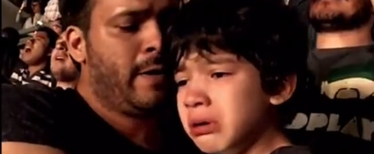 VIDEO: Young Autistic Coldplay Fan Cries at Mexico Gig