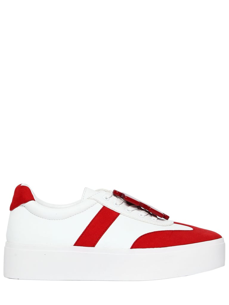 Katy perry 40MM PAYTON LEATHER & SUEDE SNEAKERS YbMaMi6G6