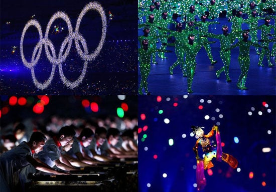 Sugar Shout Out: 2008 Summer Olympics High Tech Opening Ceremony