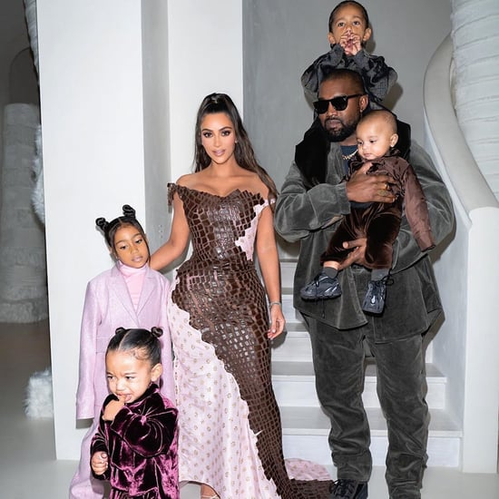 Kim Kardashian's Family Coordinated Christmas Eve Outfits