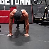 Circuit 1, Exercise 1: Bear Squat to Plank