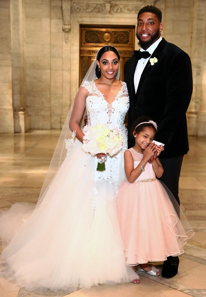 She Was Simply Stunning — and Leah Looked Too Cute in a Pink Dress!