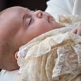 Prince Louis Sleeping at Christening July 2018
