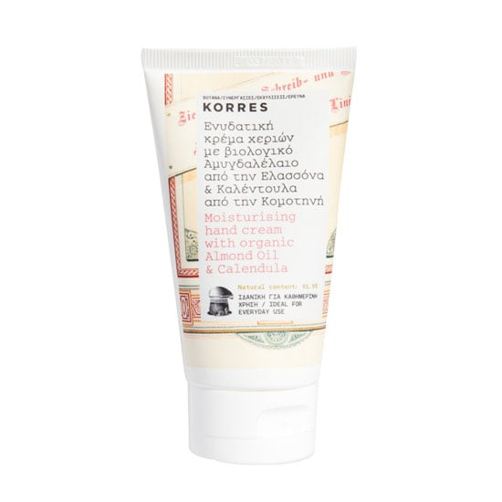 Korres Moisturising Hand Cream with Organic Almond Oil & Calendula, $15.30