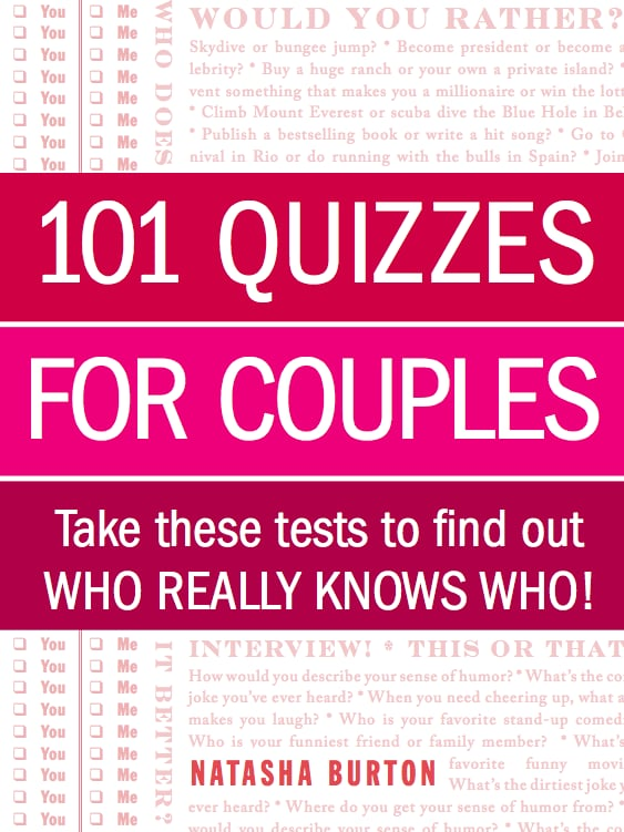 Sex quiz for couples