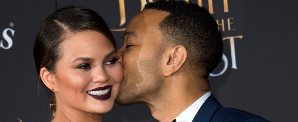 Chrissy Teigen and John Legend Leave Baby Luna at Home For a Magical Date Night