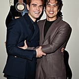 KJ Apa and Charles Melton at I Still Believe Premiere Photos
