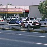 إدخال سيّارة مبرجيني افنتادور كوبيه على أسطول مركبات وزارة ا