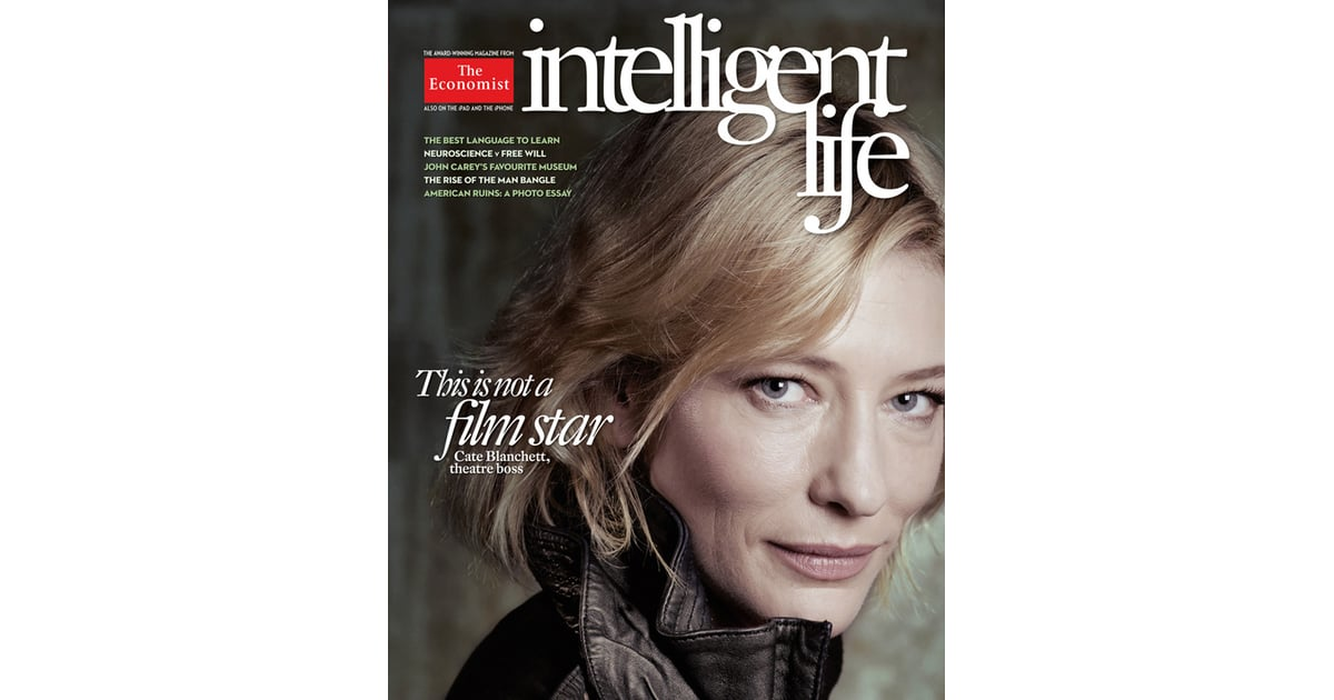 Cate Blanchett Skips Photoshop For Intelligent Life The