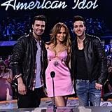 Jennifer Lopez in Fausto Puglisi Pink Dress