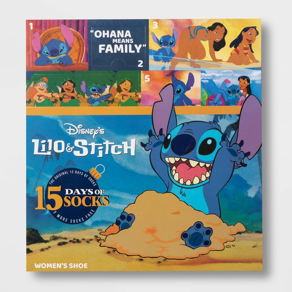 Target's Lilo and Stitch Sock Advent Calendar Is $15