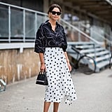 Mixing prints is easy in black and white.