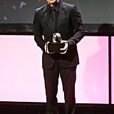 Ben Stiller was on stage in LA to accept his award.