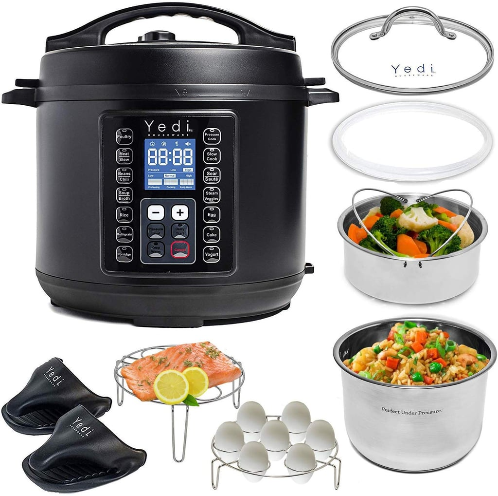 Yedi Houseware 9-in-1 Total Package Instant Programmable Pressure Cooker