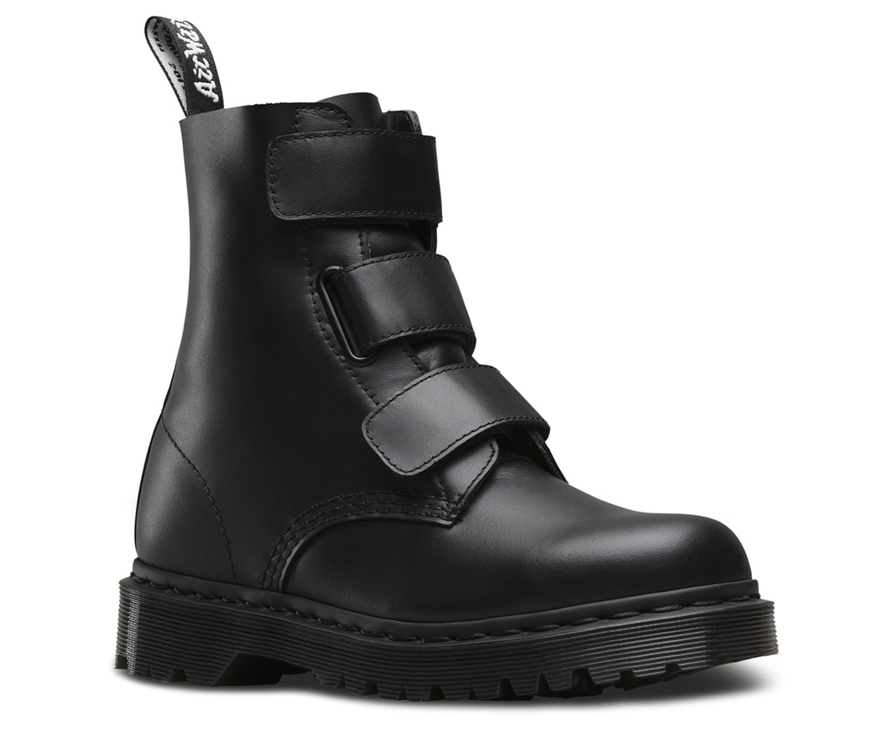 Dr. Martens Coralia Boots in Black Venice ($140) | Leave It