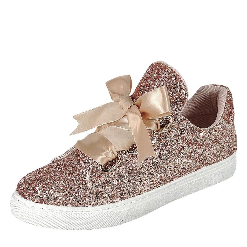 69ebd83a04a33 Forever Link Glitter Sneakers | Rose Gold Gifts on Amazon | POPSUGAR ...
