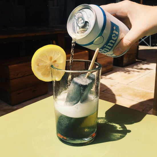 Easy Activated Charcoal Cocktail