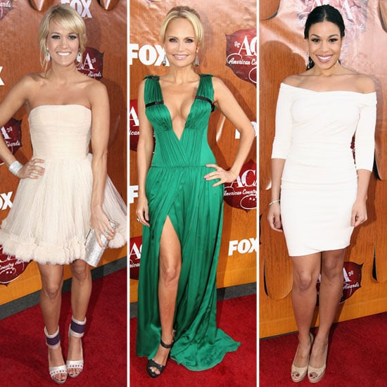 Red Carpet Dresses at American Country Awards 2011 Pictures