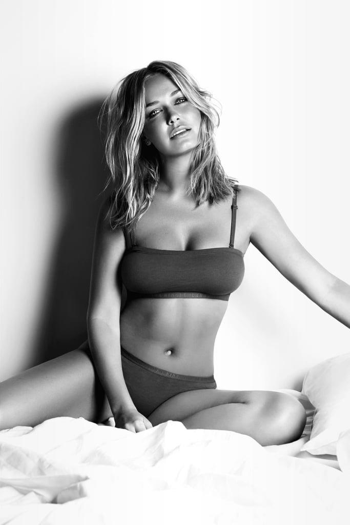 Lara Bingle collaborated with Cotton On Body on a range of lingerie. Source: Cotton On