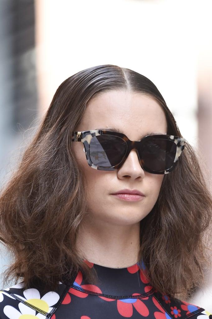 Sunglasses on the Cynthia Rowley Runway at New York Fashion Week
