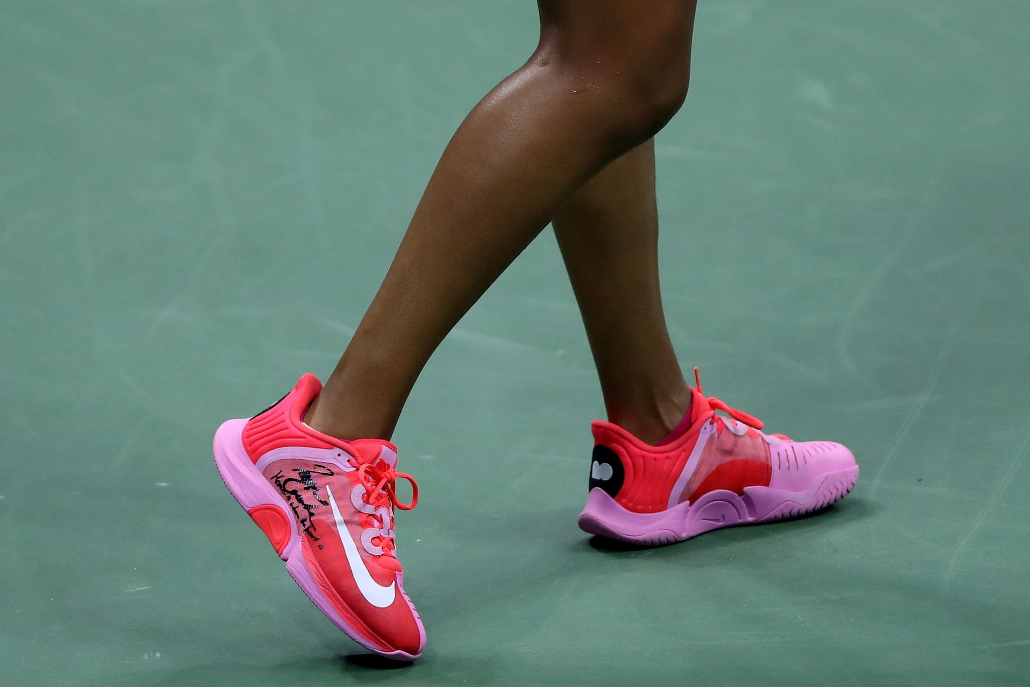 Fitness Health Well Being Naomi Osaka Sent A Moving Message With Her Us Open Sneakers Home Is Where The Heart Is Popsugar Fitness Photo 5