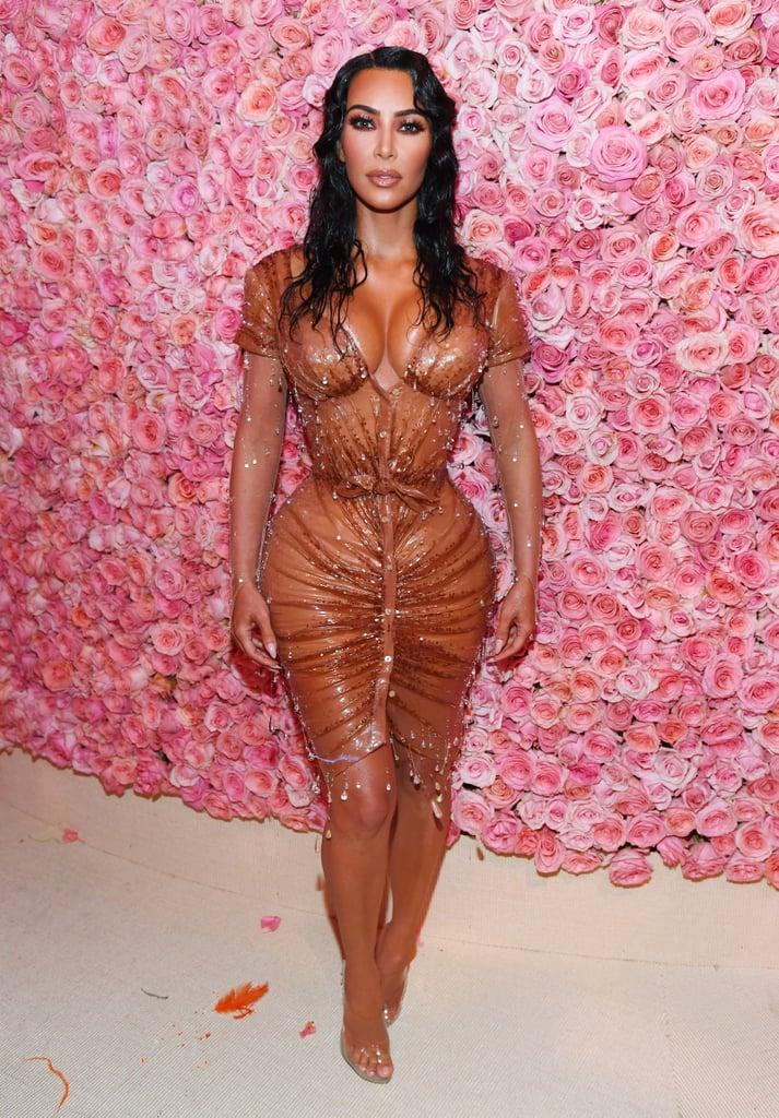 Kim Kardashian Met Gala Dress Fitting Video 2019