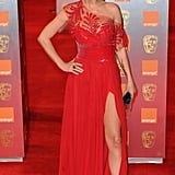 Do you like Sarah Harding's Georges Chakra red dress?