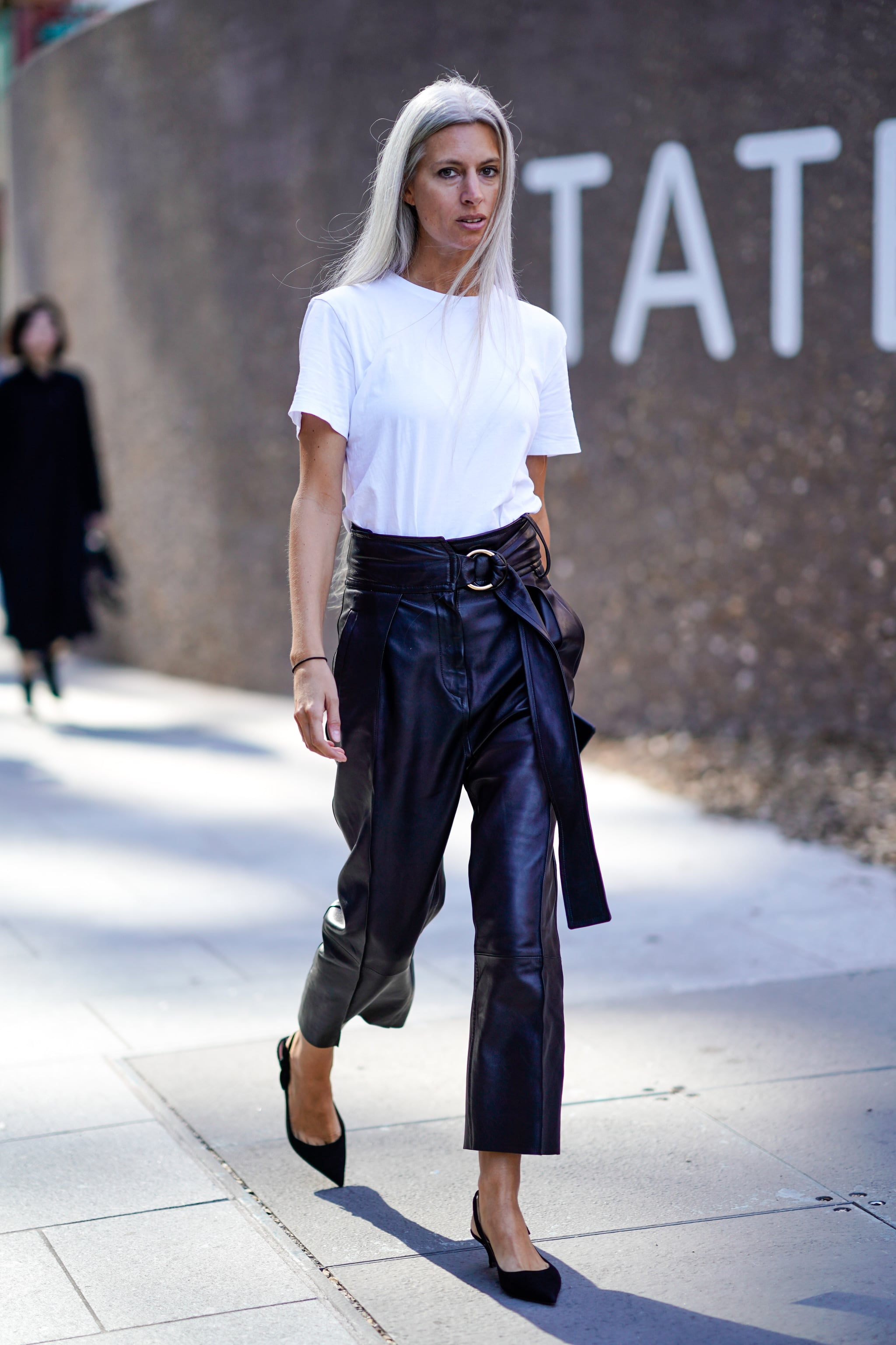 latest big discount of 2019 diverse styles Flattering Spring Trend: Leather Pants   18 Spring Trends ...