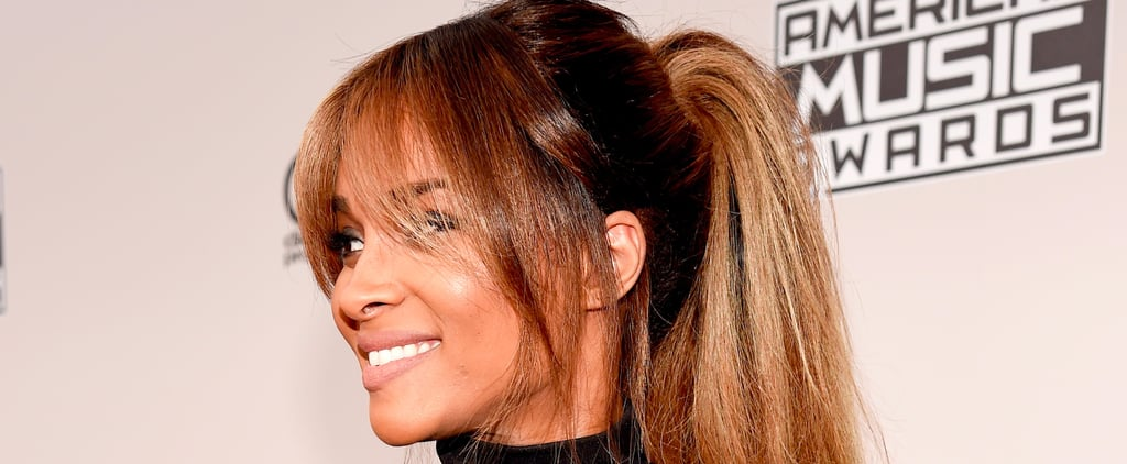 Glowing Ciara Just Made a Casual Ponytail Look Absolutely Elegant