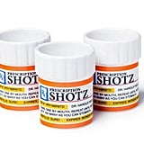 BigMouth Inc Prescription Pill Bottle Shaped Shot Glass Set