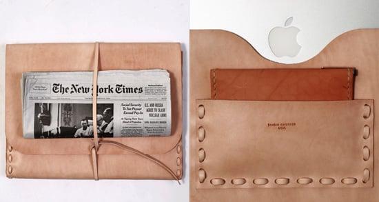 Photos of the Kenton Sorenson Leather Laptop Portfolio