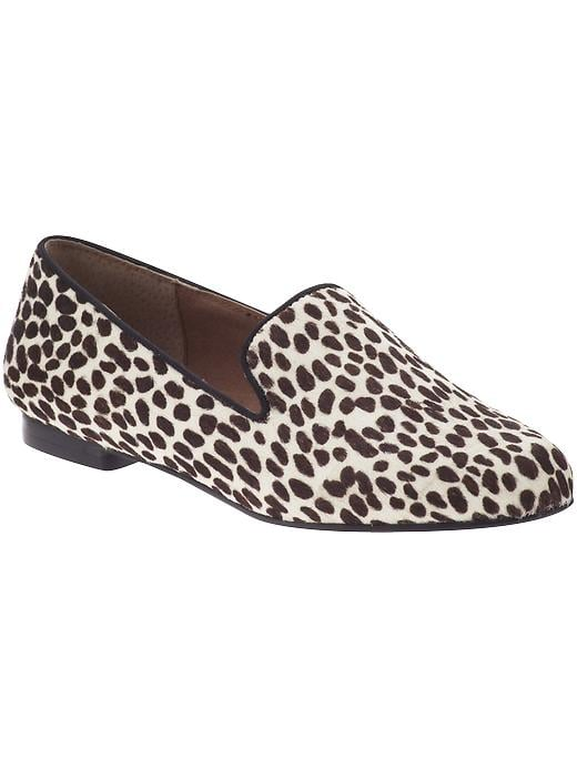 A statement print of the most wearable kind — we can't get enough of these animal-printed flats to add oomph to our every look.  Steve by Steve Madden Madee Flat ($40, originally $119)