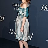 Jessica Chastain supported The Help.