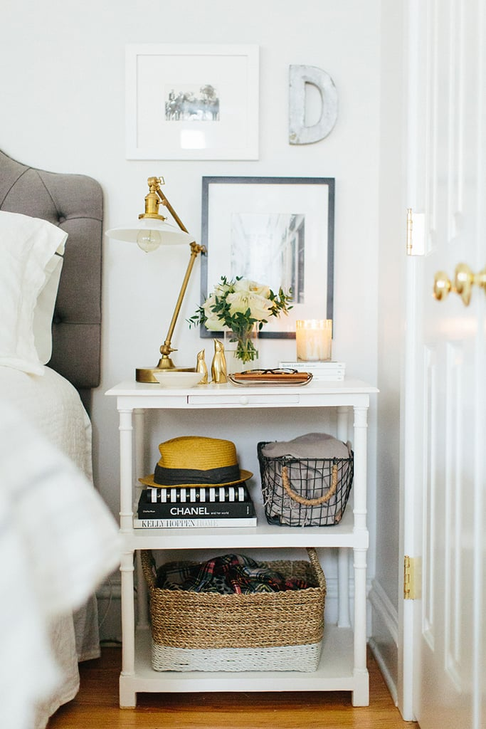 """""""I feel like I've gone back to the look of my first Chicago apartment — very white, bright, and neutral,"""" she said. """"But this is even a little less feminine and even more simple."""""""