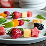 Cheese and Fruit Skewers