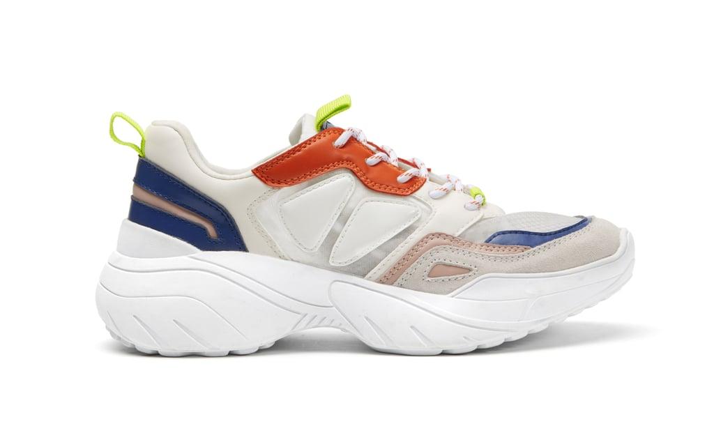 حذاء Platform Lace-Up  من Mango