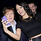 Jamie Foxx's daughter Corinne took a selfie with Paul McCartney.