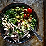 Quinoa, Chicken, and Kale Pesto Bowl