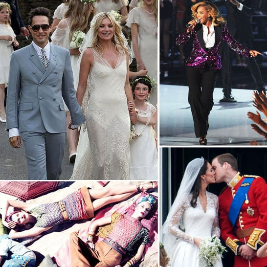 Top Five Fashion Events of 2011: We List the Biggest Headlines of the Year. The Royal Wedding, Kate Moss Weds, Galliano & more