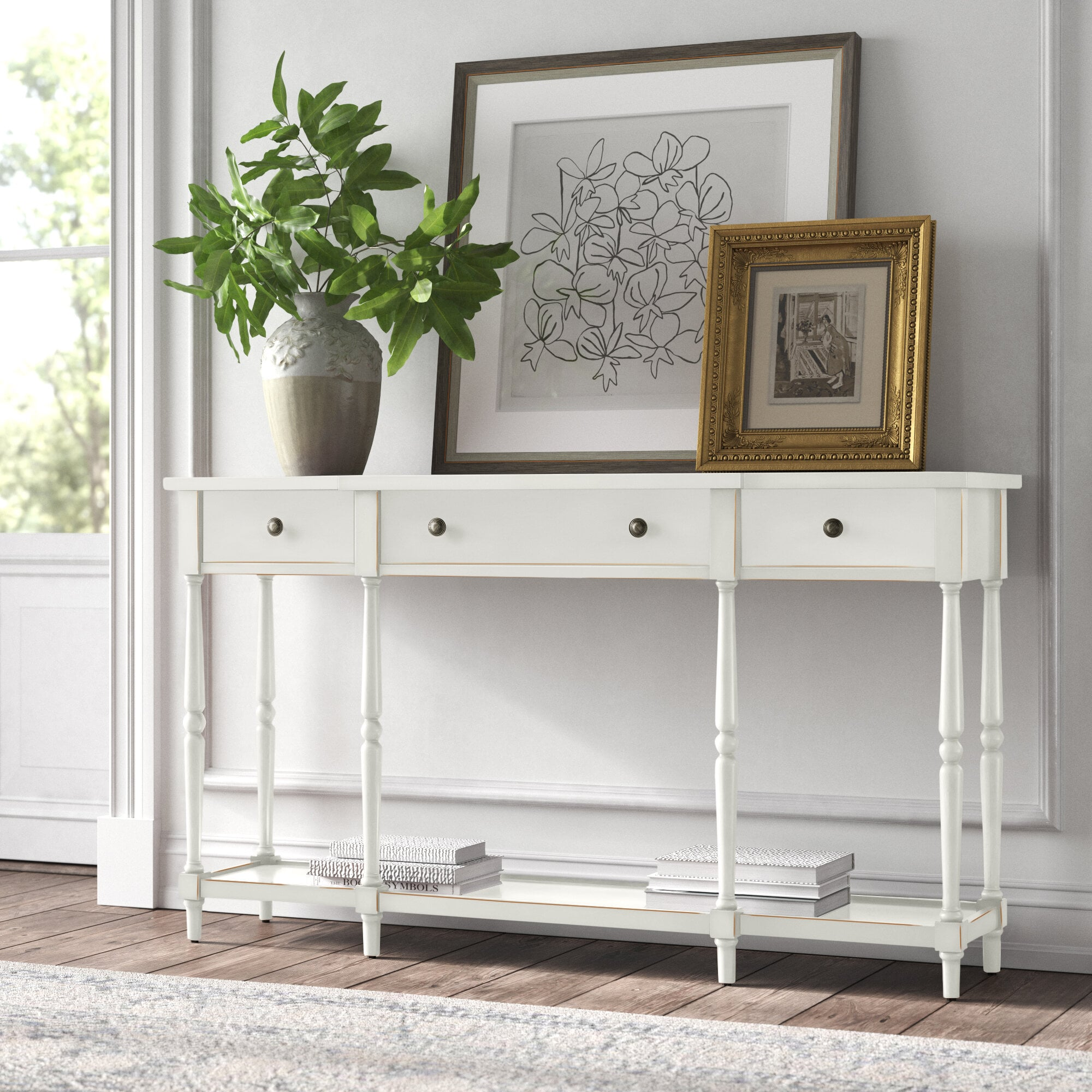 Picture of: Beaumont 60 Console Table Kelly Clarkson S Home Line Just Dropped New Fall Pieces And They Re So Dreamy Popsugar Home Photo 5