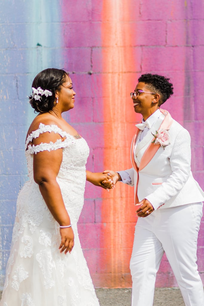 Happy Pride! Let's Celebrate Love With Some Beautiful Wedding Couple Moments, Shall We?