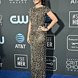 Debra Messing at the 2019 Critics' Choice Awards