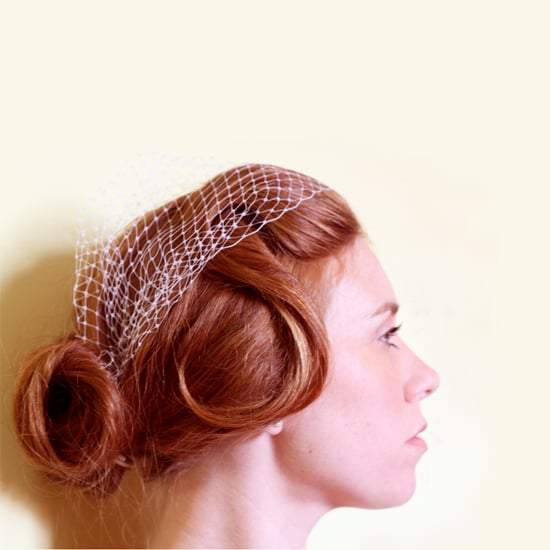 Vintage Wedding Updo Hair Tutorial
