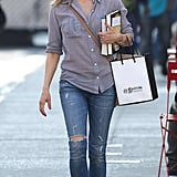 Keri Russell out before her birthday.