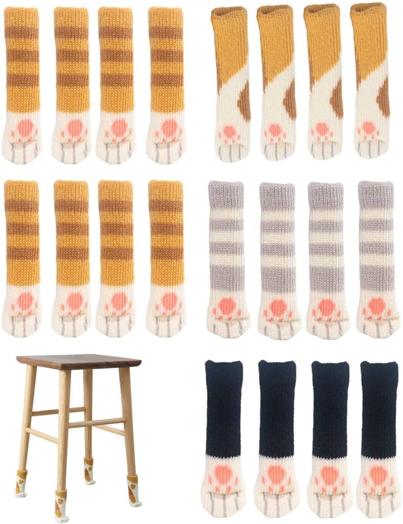Cat Paw Chair Sock Set