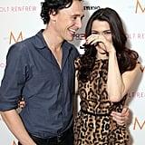 Tom made Rachel Weisz laugh.