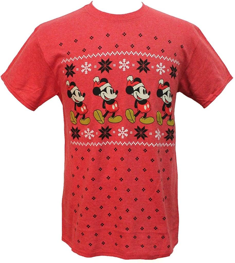 Disney Mickey Mouse Holiday T-Shirt