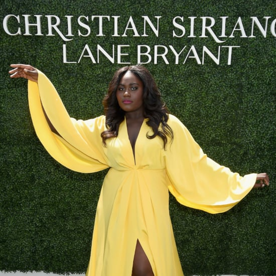 Danielle Brooks Modeling For Christian Siriano x Lane Bryant