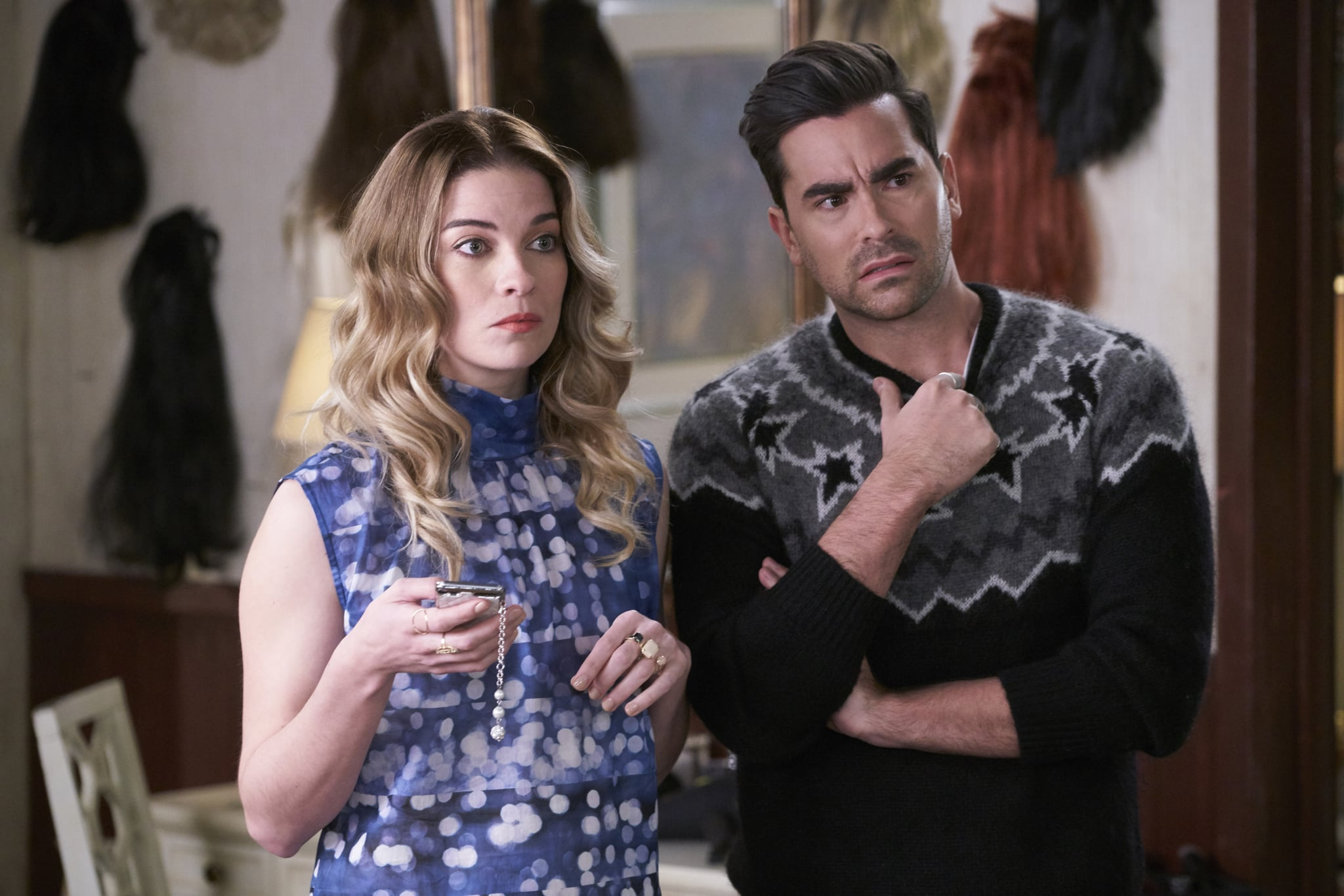 All Of David Rose S Best Sweaters On Schitt S Creek Popsugar Fashion