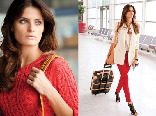 Terry Richardson Shoot Isabelli Fontana For Mango's In Transit In Style Spring 2011 Campaign